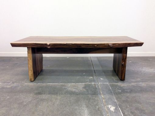 Custom Made Figured Walnut Coffee Table