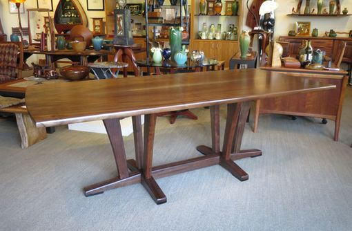 Custom Made Shokutaku Dining Table, Asian Table, Rustic Dining Table, Conference Table