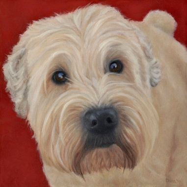 Custom Made Art Print - Wheaton Terrier - 10% Benefits Animal Charities
