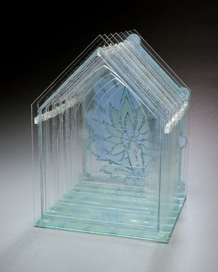 Custom Made Merciful Glass Sculpture