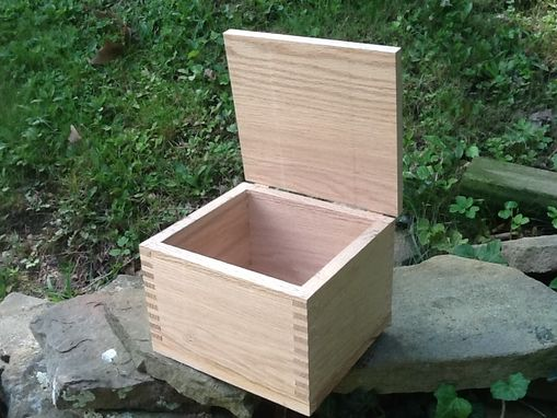 Custom Made Custom Oak Box