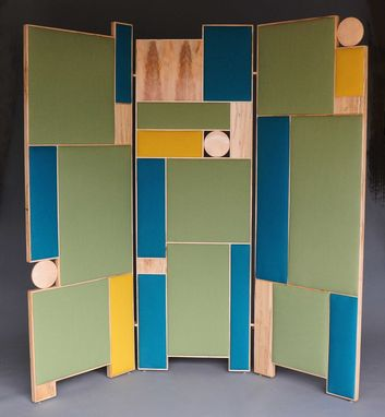 Custom Made Room Divider - Mondrian