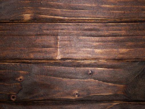 Industrial Wood Steel Bench Rustic Corner