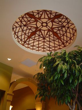 Custom Made Compass Rose Ceiling Dome