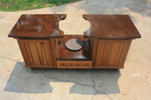 Custom Made Tennessee Collection Big Green Egg Table