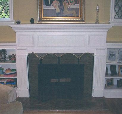 Custom Made Fireplace Remodeling