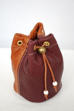 Custom Made Leather Golf Valuables Pouch