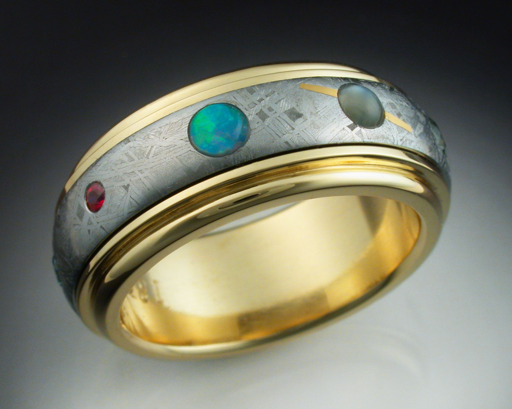 Buy a Hand Crafted The Nine Planets Ring made to order from
