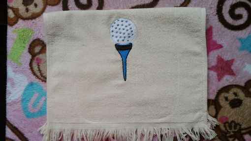 Custom Made Embroidered Hand Towels