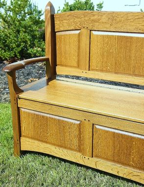 Custom Made Children's Bench