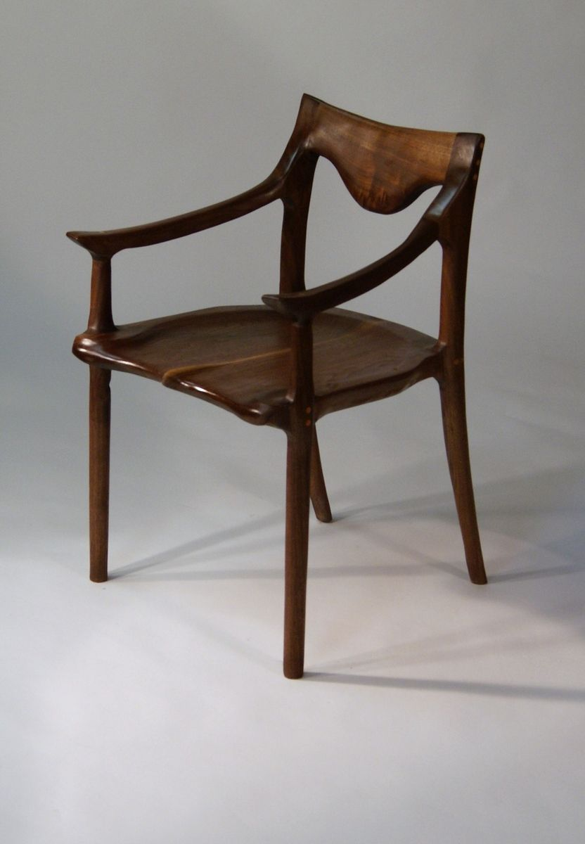 Hand Crafted Low Back Dining Chair By Hayes Furniture