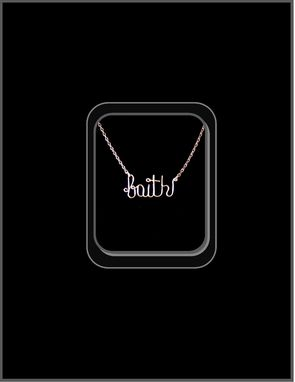Custom Made Saying Jewelry,Script Jewelry,Word Jewelry,Name Jewelry,Breathe Necklace,Believe,Word Necklace,