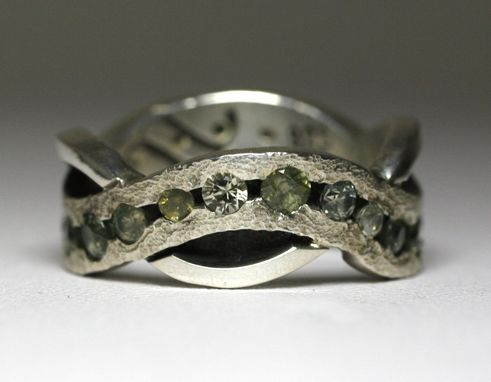 Custom Made River Path Ring