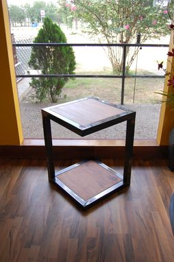 Custom Made Tangent End Table