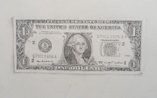 Custom Made Dollar Bill