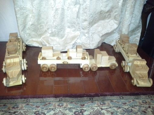 Custom Made Wooden Toy Set