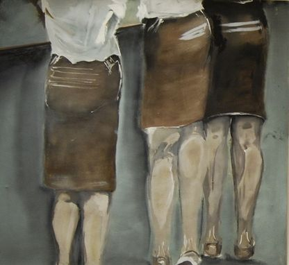 "Custom Made ""Uniformity"" Figurative Oil Paintings"