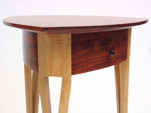 Custom Made Small Table With Drawer