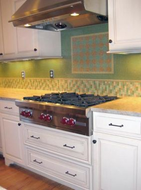Custom Made Splash Of Color In Your Kitchen
