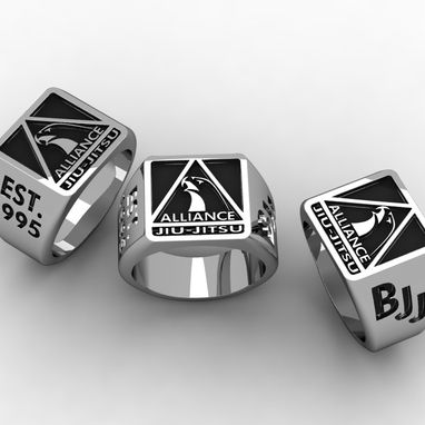 Custom Made Award Rings And Recognition.