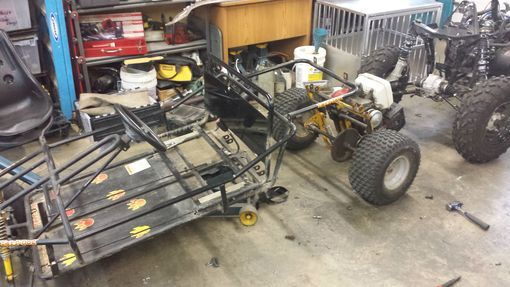 Custom Made Custom Monster Go Kart
