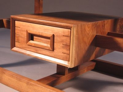 Custom Made Coffee Table With Drawer