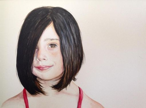Custom Made Commission Portraits In Watercolor