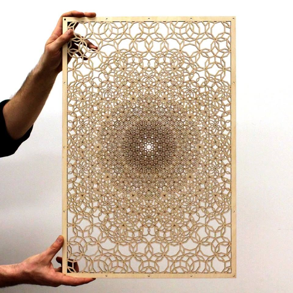 Custom Large Laser Cut Design by Naked Geometry | CustomMade com