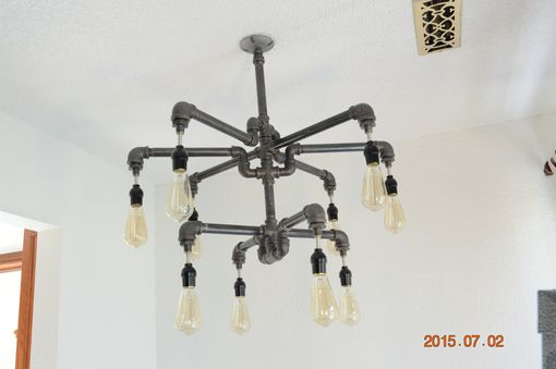 Custom Made Double Tier Chandelier