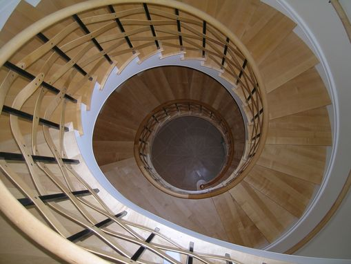 Custom Made Spiral Stairway