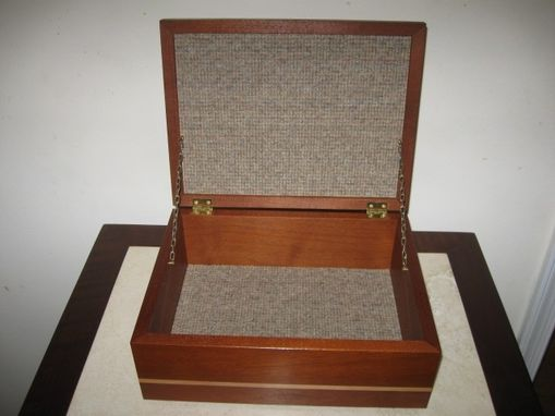 Custom Made Custom Retirement Box