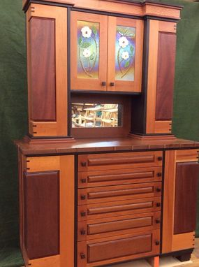 Custom Made Hutch, 2 Piece