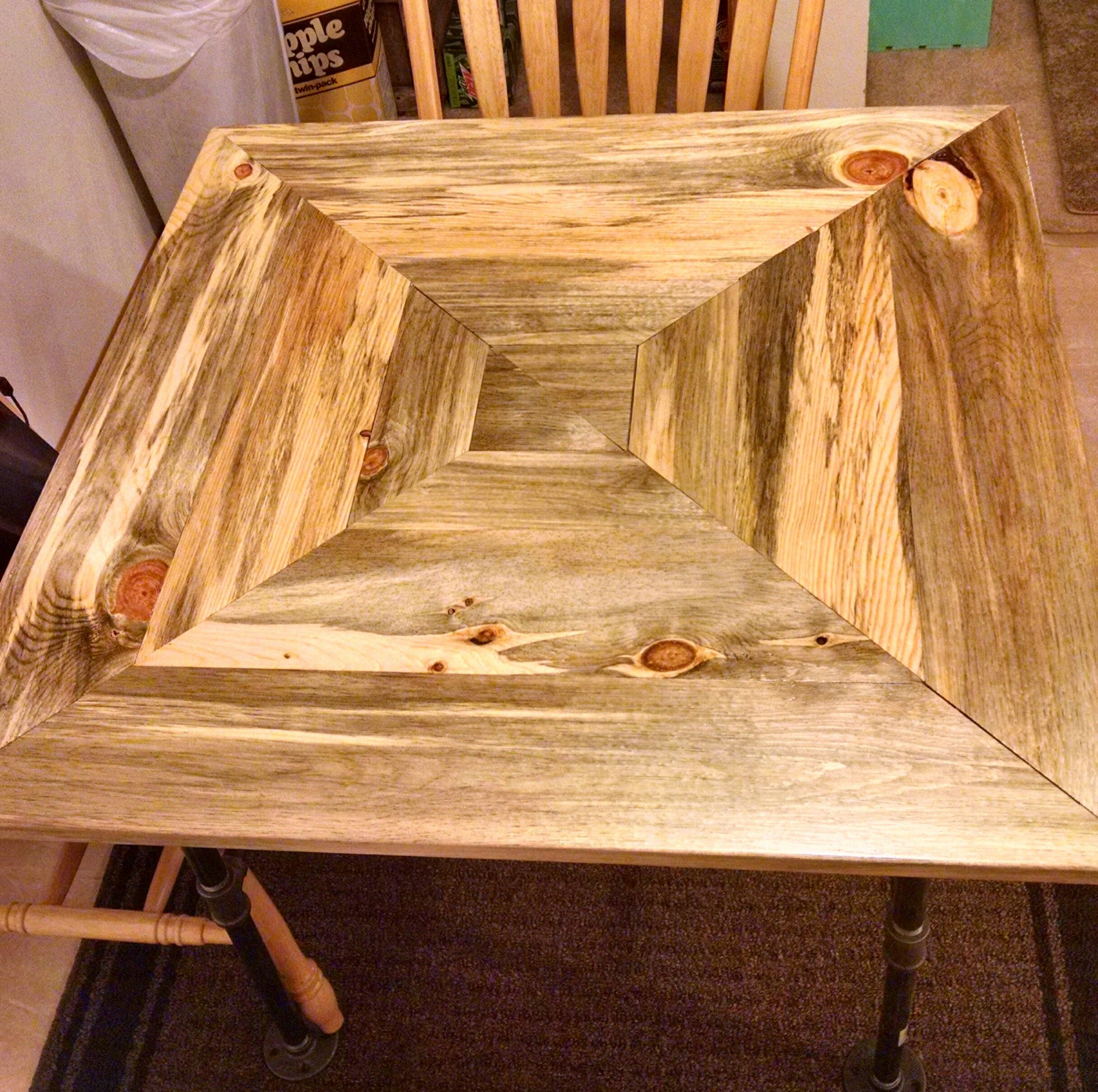 Buy A Custom Made Beetle Kill Pine Kitchen Table Made To Order From
