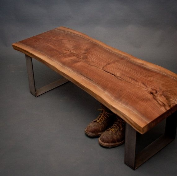 Handmade Reclaimed Mid Century Modern Benches By Elpis