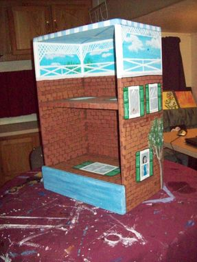 Custom Made School Tower Bookcase