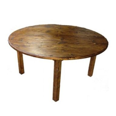 Custom Made Round Farmhouse Table