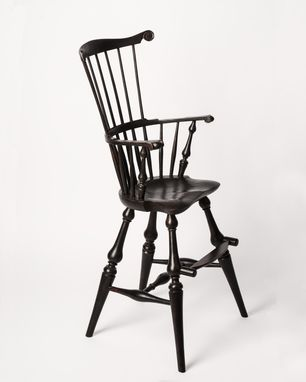 Custom Made Comb Back Windsor High Chair