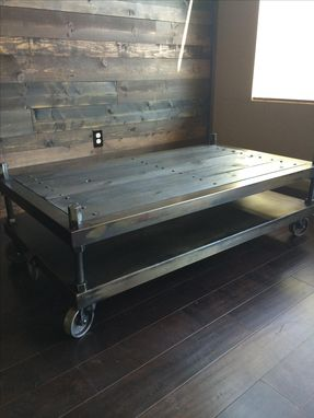 Custom Made Carter Coffee Table