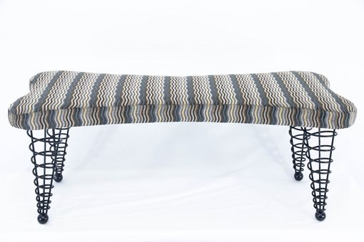 Custom Made Modern Upholstered Bench