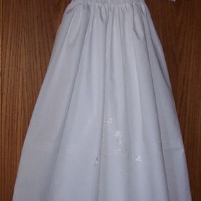 6a7997d0e8 White Egyption Cotton Blessing Gown by Marceil Brumaghim