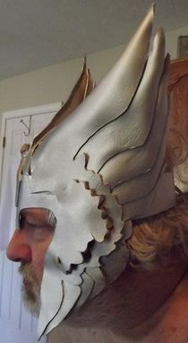 Custom Made Norse God Mask (Thor)