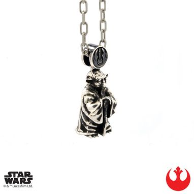 Custom Made Yoda Pendant - Precious Metals