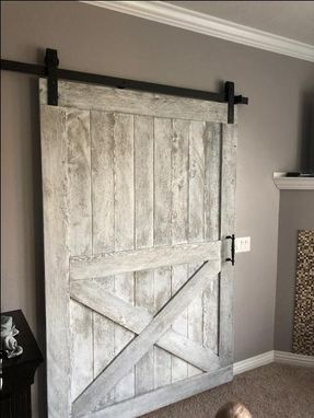 Custom Made Sliding Barn Door