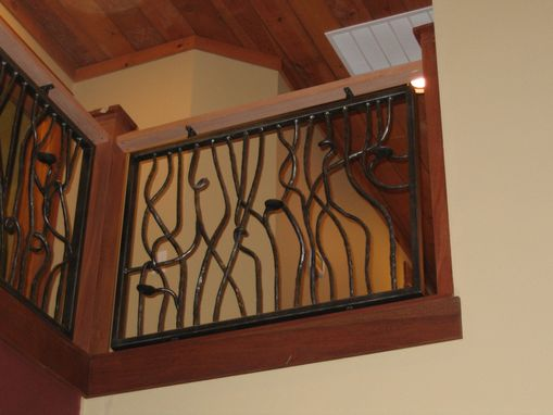 Custom Made Vine Railing