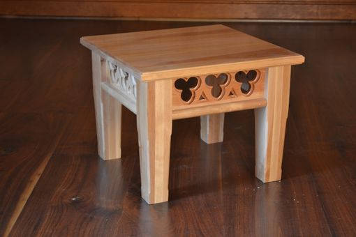 Custom Made Small Table For Atrium Class: Prayer Table