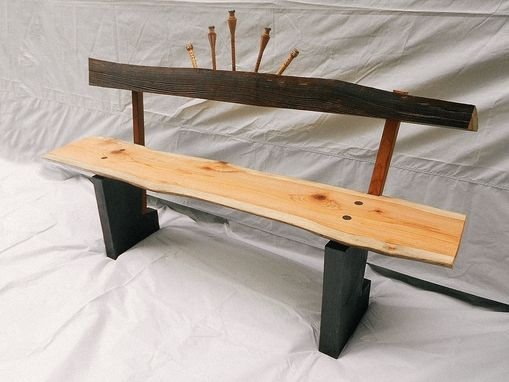 Custom Made Asian Sunrise Bench
