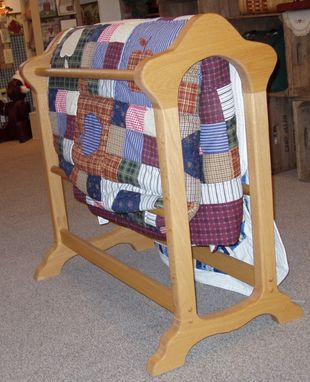Custom Made Quilt Rack