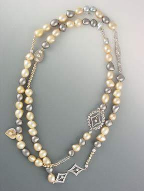 Custom Made Antique Pearl Necklace Updated