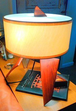 Custom Made Scandinavian Inspired Table Lamp