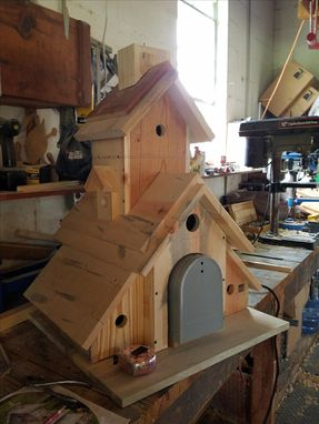 Custom Made Mailbox Birdhouse